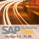 SAP Business One 9.2 PL 09
