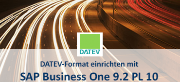 DATEV-Format mit SAp Business One