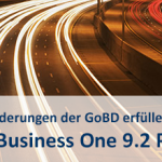 SAP Business One GoBD