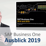 SAP Business One Ausblick 2019