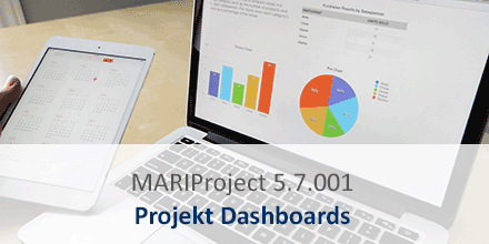 MARIProject Projekt Dashboards