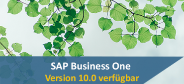 SAP Business One 10 verfuegbar